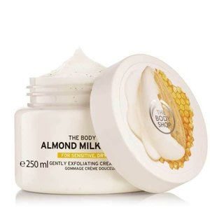 3/$50 New! The Body Shop almond milk & honey scrub